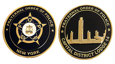 Challenge Coin Capital District FOP
